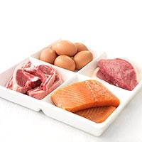белки - фаза атака диеты дюкана
