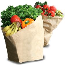 Здоровое питание для похудения фрукты и овощи